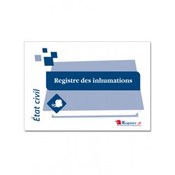 REGISTRE DES INHUMATIONS (A010)