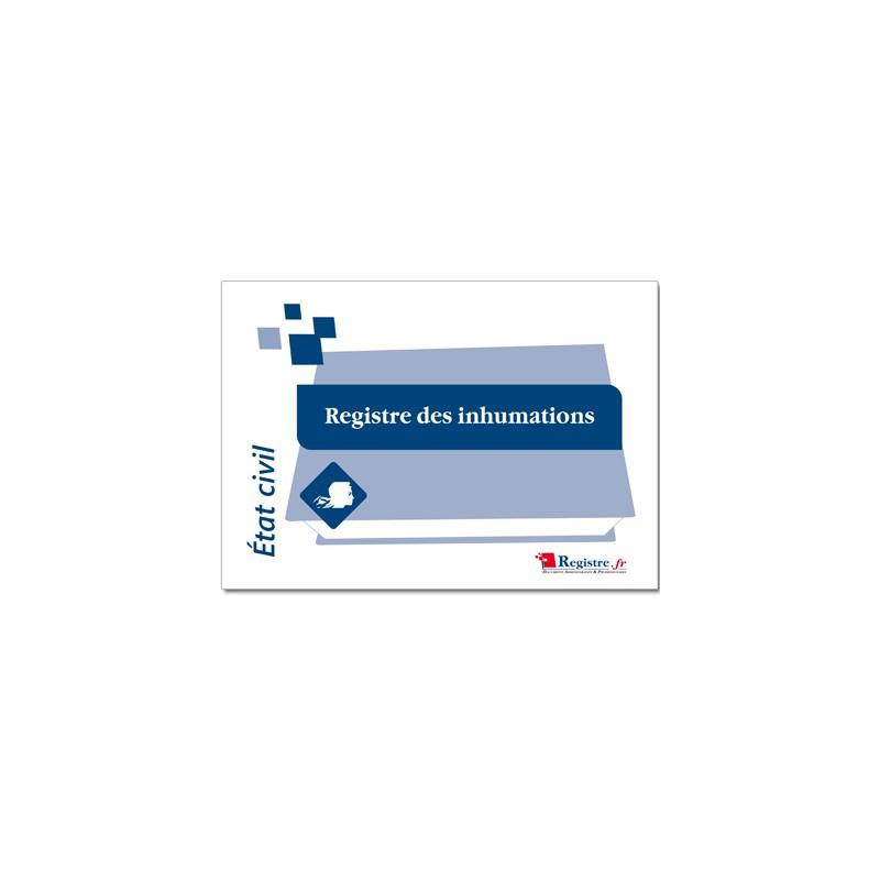 REGISTRE DES INHUMATIONS (A010)
