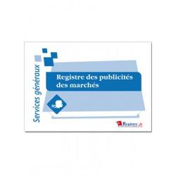 REGISTRE DES PUBLICITES DES MARCHES (A035)