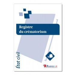 REGISTRE DU CREMATORIUM (A041)