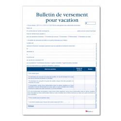 REGISTRE DES VERSEMENTS POUR VACATION (A042)