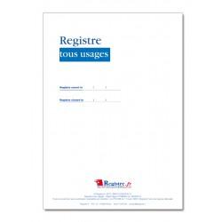 REGISTRE OBLIGATOIRE POLICE MUNICIPALE: TOUS USAGES (A051)