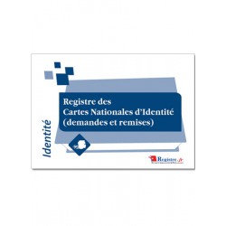 REGISTRE DES CARTES NATIONALES D'IDENTITE (DEMANDES ET REMISES) (A057)