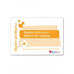 REGISTRE ARRIVEES ET DEPARTS DU CAMPING (A067)
