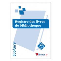 REGISTRE DES LIVRES DE BIBLIOTHEQUE (A070)