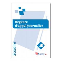 REGISTRE D'APPEL JOURNALIER (A072)