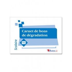 CARNET DE BONS DE DEGRADATION (A094)