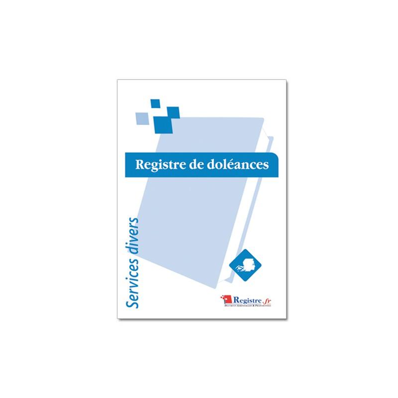 REGISTRE DE DOLEANCES (A099)