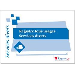 REGISTRE TOUS USAGES SERVICES DIVERS (A100)