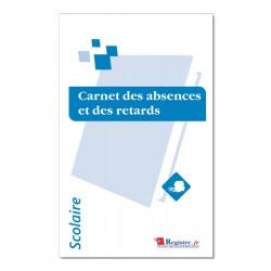 CARNET DES ABSENCES ET DES RETARDS (A106)