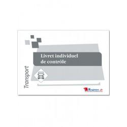 LIVRET INDIVIDUEL DE CONTROLE CONDUCTEURS DE TRANSPORT (CMR03)