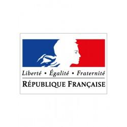 AFFICHAGE DEVISE OBLIGATOIRE LIBERTE EGALITE FRATERNITE (DEV001)