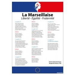 LA MARSEILLAISE LOI BLANQUER AVEC MARIANNE (DEV0014)