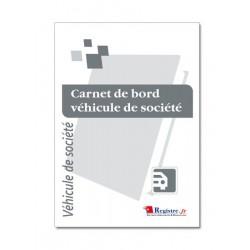 CARNET DE BORD VEHICULE DE SOCIETE (M001-A5)