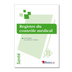 REGISTRE DU CONTROLE MEDICAL (M003)