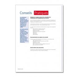 REGISTRE DE SECURITE - CONTROLE ET VERIFICATION HYGIENE ET SECURITE (M004)