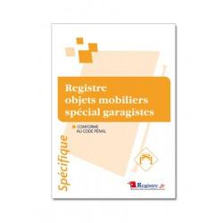 REGISTRE OBJETS MOBILIERS SPECIAL GARAGISTES (M016)