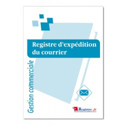 REGISTRE D'EXPEDITION DE COURRIER (M017)