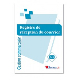 REGISTRE DE RECEPTION DU COURRIER (M018)