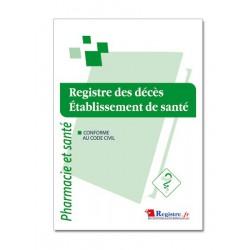 REGISTRE DES DECES - ETABLISSEMENT DE SANTE (M020)
