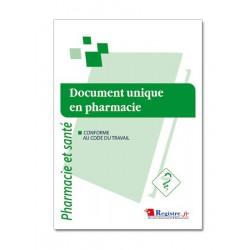 DOCUMENT UNIQUE EN PHARMACIE (M021)