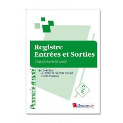 REGISTRE DES ENTREES ET SORTIES (M030)