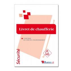 LIVRET DE CHAUFFERIE (M054)