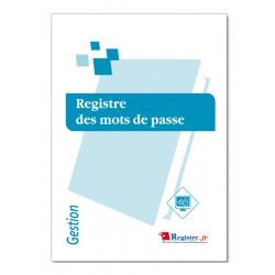 REGISTRE DES MOTS DE PASSE (M061)
