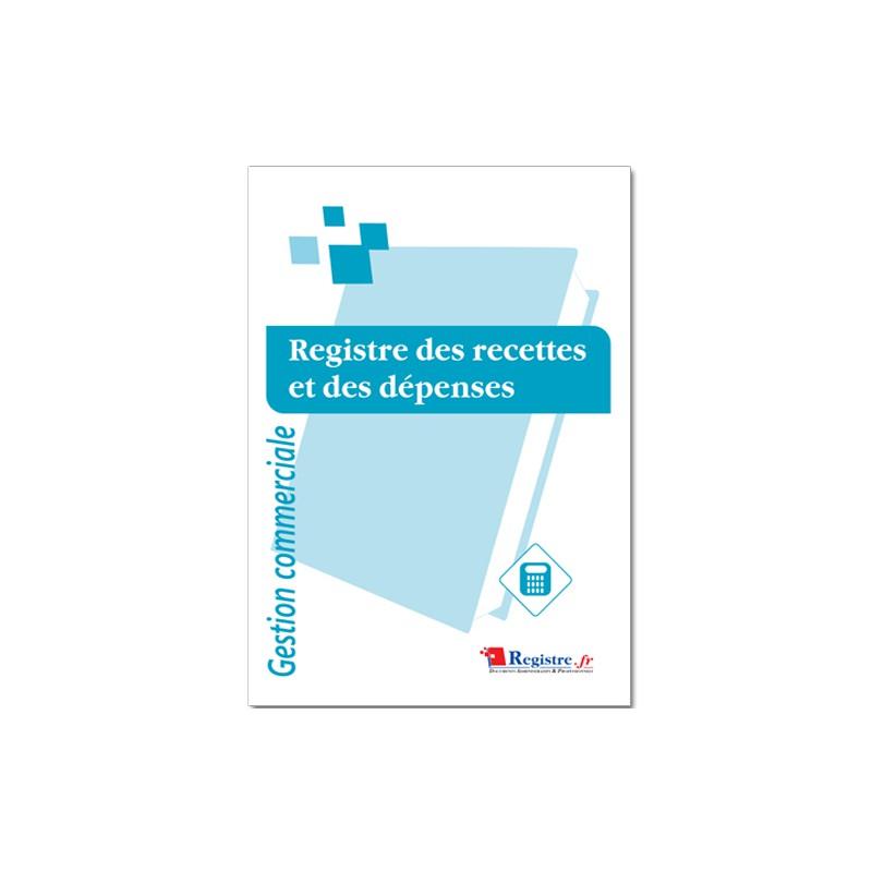 REGISTRE DES RECETTES ET DES DEPENSES (M063-1)
