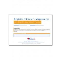 REGISTRE BIJOUTIER MAGASINIERS (M066)