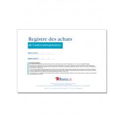 REGISTRE DES ACHATS DE L'AUTO-ENTREPRENEUR (M077-1)