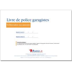 LIVRE DE POLICE GARAGISTES (M080)