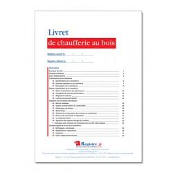 LIVRET DE CHAUFFERIE AU BOIS (M082)