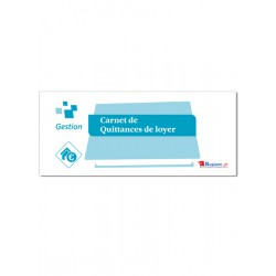 CARNET DE QUITTANCES DE LOYER (M102)