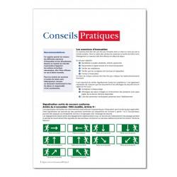 REGISTRE D'EXERCICES D'EVACUATION POUR ETABLISSEMENT TYPE R (P008)