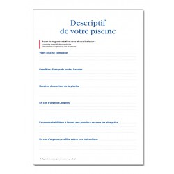 REGISTRE DE SECURITE POUR PISCINE PRIVATIVE A USAGE COLLECTIF (P012)