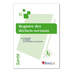 REGISTRE DES DECHETS SORTANTS (P014)