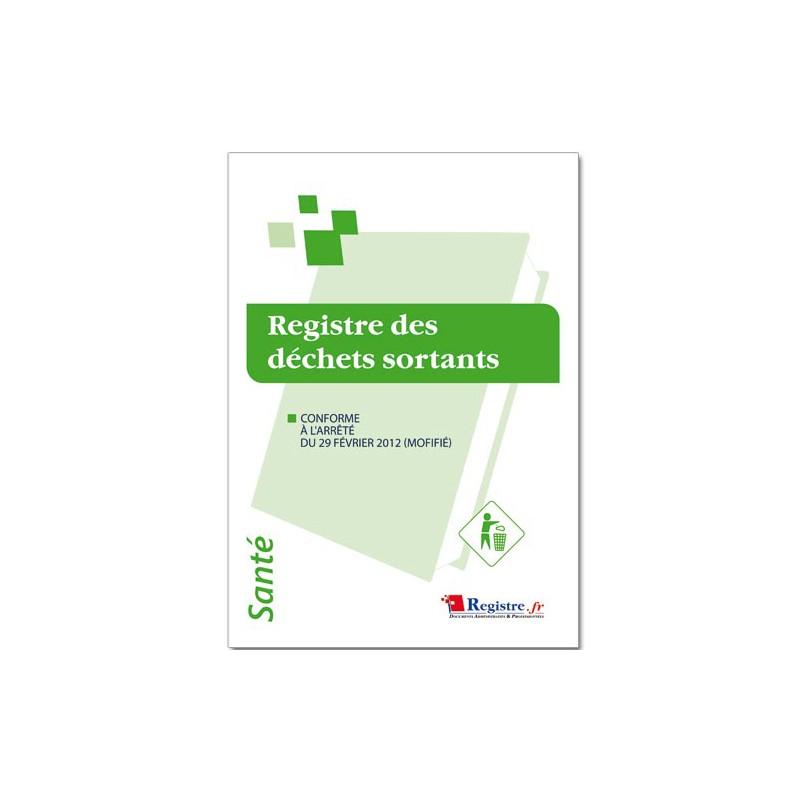 REGISTRE DES DECHETS SORTANTS (P014)
