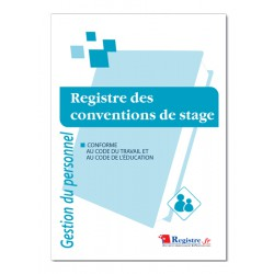 REGISTRE DES CONVENTIONS DE STAGE (P022)