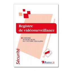 REGISTRE DE SECURITE VIDEOSURVEILLANCE (P023)