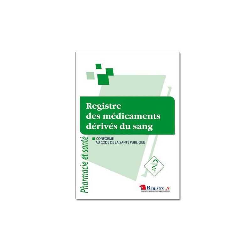 REGISTRE DES MEDICAMENTS DERIVES DU SANG (P027)