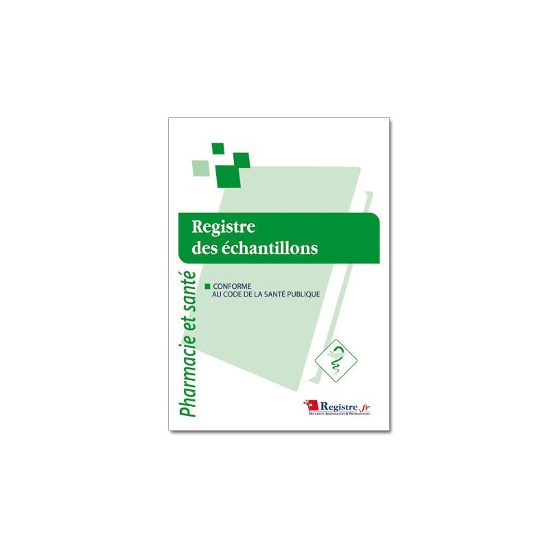 REGISTRE DES ECHANTILLONS (P029)