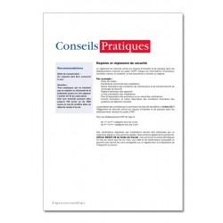 REGISTRE DE SECURITE INCENDIE ERP TYPE S (P041)