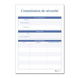 REGISTRE DE SECURITE INCENDIE POUR ERP TYPE T (P042)