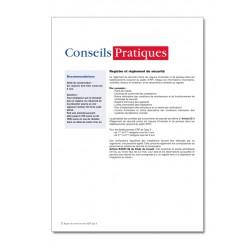 REGISTRE DE SECURITE INCENDIE POUR ERP TYPE X (P045)