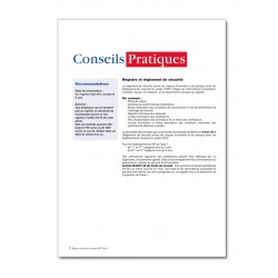 REGISTRE DE SECURITE INCENDIE POUR ERP TYPE Y (P046)