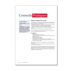 REGISTRE DE SECURITE INCENDIE POUR ERP TYPE REF (P051)