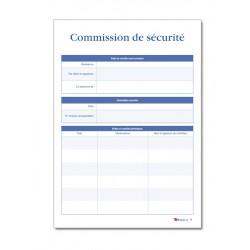 REGISTRE DE SECURITE INCENDIE POUR ERP TYPE PS (P052)