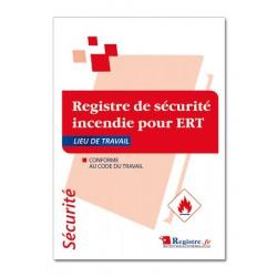 REGISTRE DE SECURITE INCENDIE OBLIGATOIRE POUR ERT (P054)