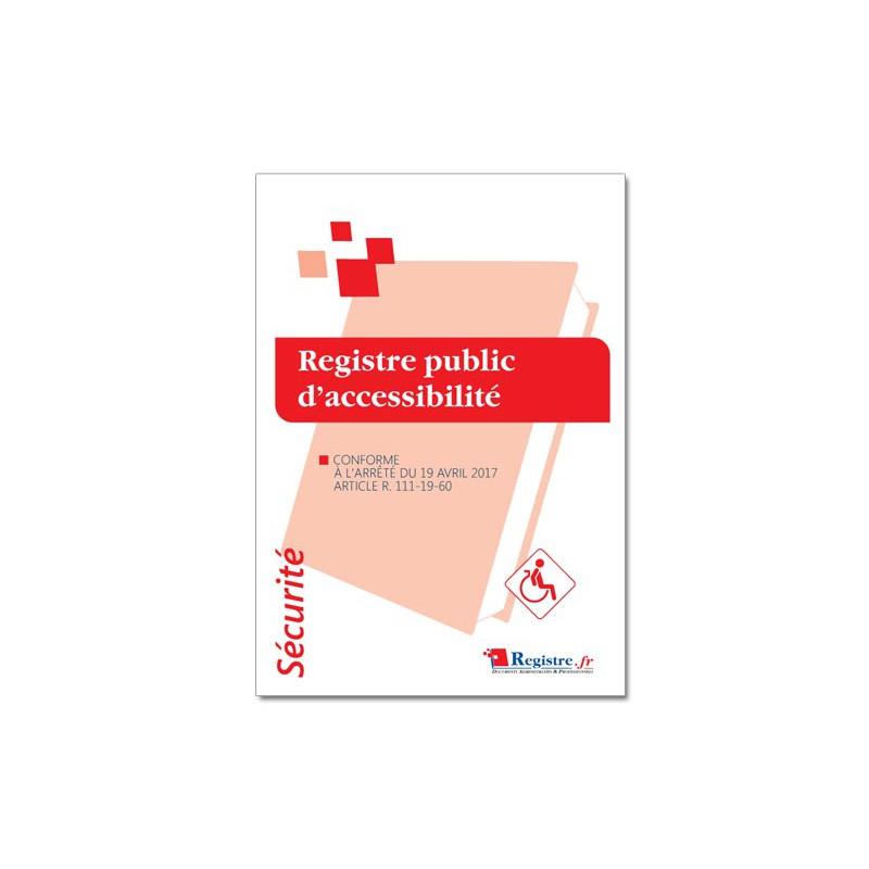 REGISTRE PUBLIC D'ACCESSIBILITE (P068)